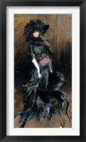 The Marchesa Casati Framed Print