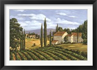 A View of the Valley Framed Print