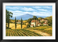 Road to the Vineyard Framed Print