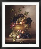 Framed Bordeaux Fruit