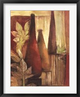 Exotic Elements II Framed Print