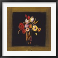Baroque Bouquet II Framed Print