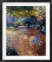 La Tonnelle Framed Print
