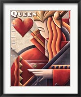 Martini Queen Framed Print
