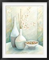 Serenity Spa I Framed Print