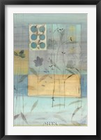 Framed Meadow Flowers I