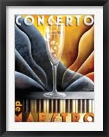 Framed Concerto de Maestro