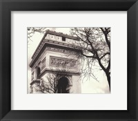 Framed Arc De Triumphe