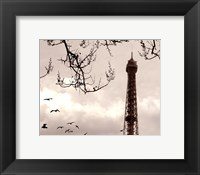 Tour Eiffel Framed Print