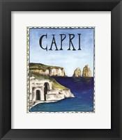 Framed Capri