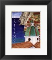 Framed Positano