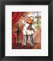 Chefs With Wine IV Framed Print