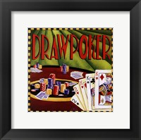 Framed Draw Poker