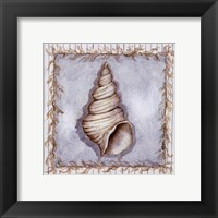 Walk on the Beach I Framed Print