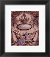Charming Bathroom II Framed Print