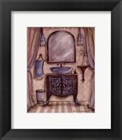 Framed Charming Bathroom III