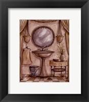 Framed Charming Bathroom IV