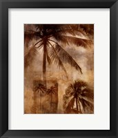 Framed Retro Palms 2