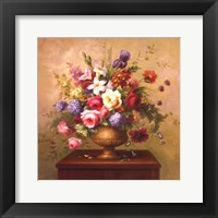 Framed Heirloom Bouquet I