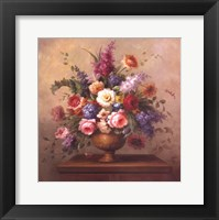 Framed Heirloom Bouquet II