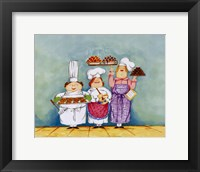 Desserts Are Served I Framed Print