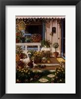 Spring Front Porch Framed Print