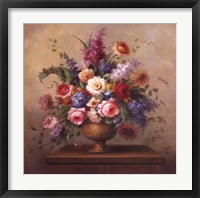 Heirloom Bouquet II Framed Print