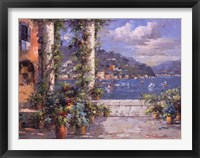 Hillside View II Framed Print