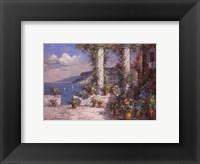 Framed Hillside View I