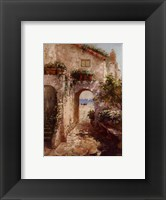 Framed Bernazza Arch