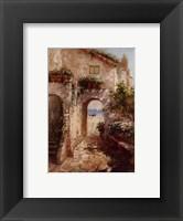 Framed Bernazza Arch
