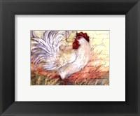 Framed Le Rooster II