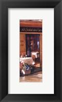 Framed La Petite Terrasse