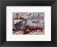 Fisherman's Catch I Framed Print