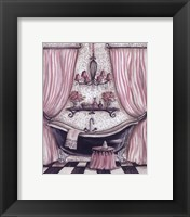Fanciful Bathroom I Framed Print