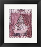 Fanciful Bathroom II Framed Print