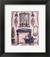 Framed Fanciful Bathroom III