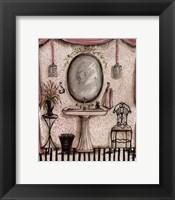 Framed Fanciful Bathroom IV