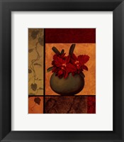 Cattaleya Window Framed Print