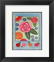 Mod Flower 3 Framed Print