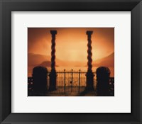 Two Columns Framed Print