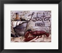 Framed Fisherman's Catch I
