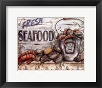 Framed Fisherman's Catch IV