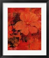 Framed Marigolds I