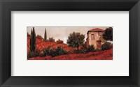 l Papaveri Sulle Colline Framed Print