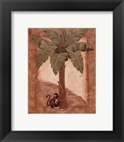 Framed Monkey Palm II