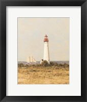View from the Lighthouse I Framed Print