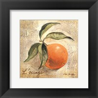 L'Orange Framed Print