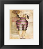 Baigneur de Soleil III Framed Print