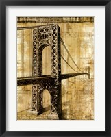 Framed George Washington Bridge